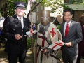 Chief Inspector Phil Painter, Saint George and Gurvinder Sandher